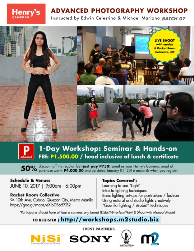 Henry's Advanced Photography Workshop | Batch 07