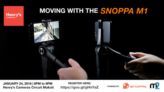 Moving with Snoppa M1 by Henry's Cameras