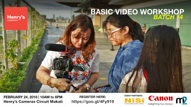 Henry's Cameras Basic Video Production Workshop - Batch 14