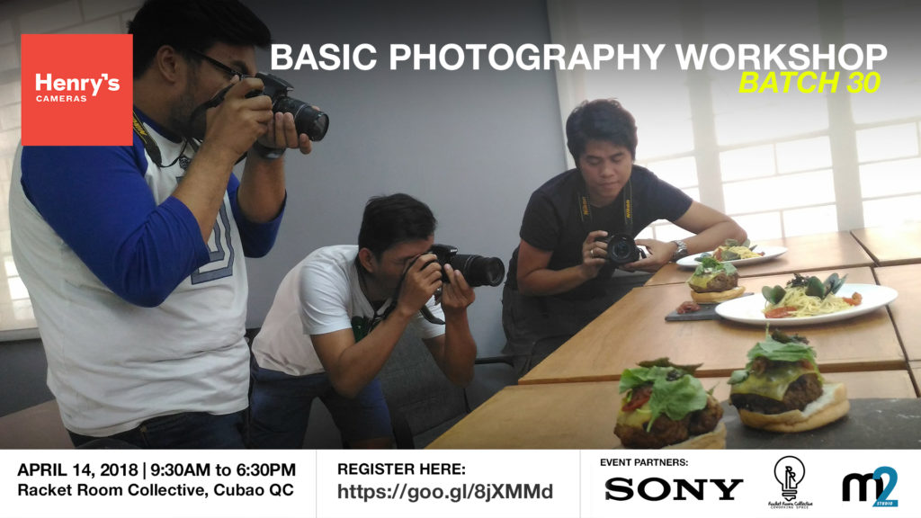 Henry's Cameras Basic Photography Workshop - Batch 30 | M2 Studio Philippines