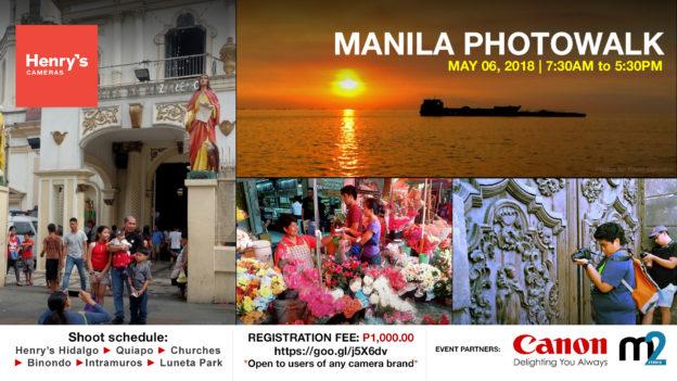 Henry's Cameras Manila Photowalk May 06, 2018 | M2 Studio Philippines