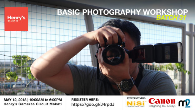 Henry's Cameras Basic Photography Workshop - Batch 31 | M2 Studio Philippines