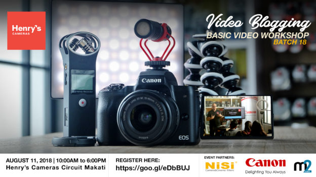 Henry's Cameras Basic Video Production Workshop - Batch 18 | M2 Studio Philippines