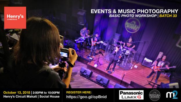 Henry's Cameras Basic Photography Workshop - Batch 33 | M2 Studio Philippines
