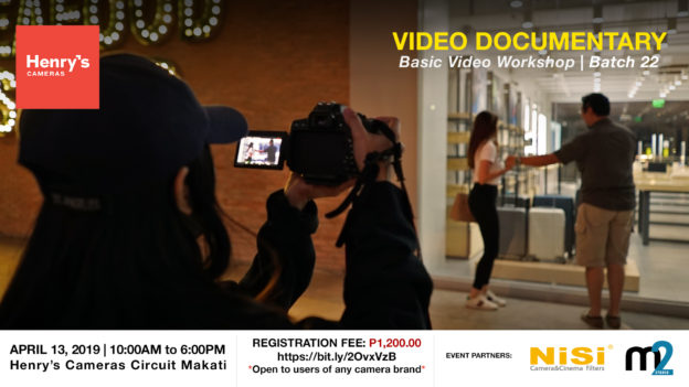 Henry's Cameras Basic Video Production Workshop - Batch 22 | M2 Studio Philippines
