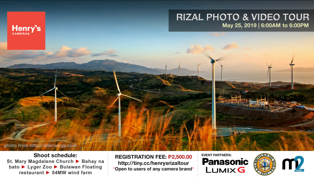 Henry's Cameras Rizal Photo & Video Tour May 25, 2019 | M2 Studio Philippines